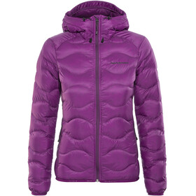 Peak Performance Helium Down Hood Jacket Women Blood Cherry